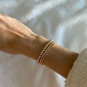 14kt gold filled Eifram bracelets